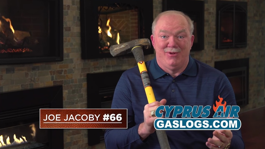 Former Redskins Player Joe Jacoby Returns to Commercials, Still Trying to Live Down That Disastrous 1983 Theater Vision Ad