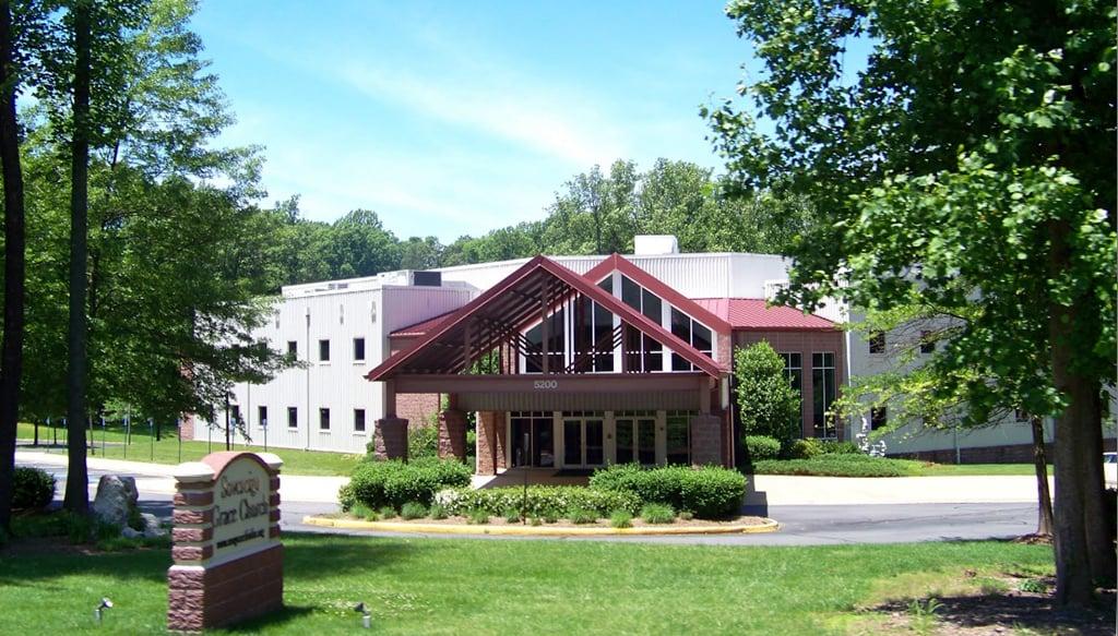 Sovereign Grace Church in Fairfax. Sovereign Grace Ministries. Photograph courtesy of Google.