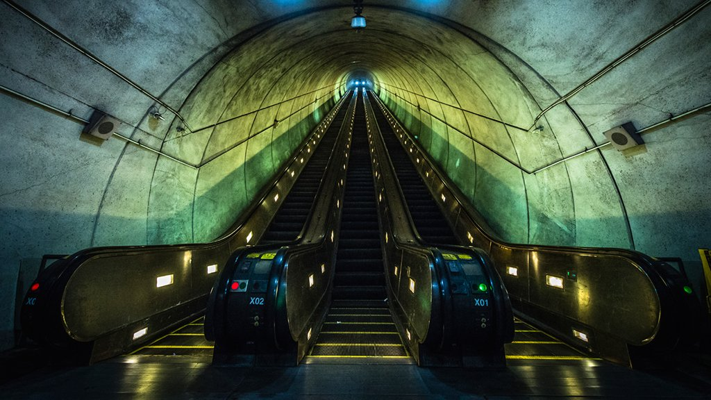 DC Metro Escalator