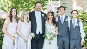 For Their Second Marriage, This Couple Included Their Teen Children in The Sweetest Way