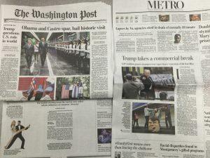 Donald Trump-Crazed Washington Post Prints Ten Stories About Trump. Enjoy!