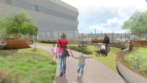 Here's What the Rooftop Healing Garden at Children's National Will Look Like
