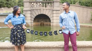You'll Totally Want to Copy This Couple's Engagement Shoot Outfits