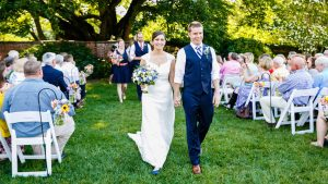 These Middle School Friends Married in a Bright Flower-Filled Wedding at Alexandria's River Farm