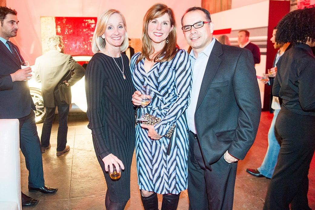 Joyce Jordan, Andrea Baker, and Ron Zegada.