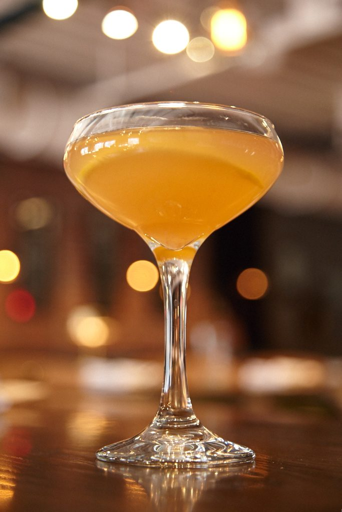 Cocktails, all $11, run classic, including the Seelbach that combines sparkling wine, bourbon, and bitters.