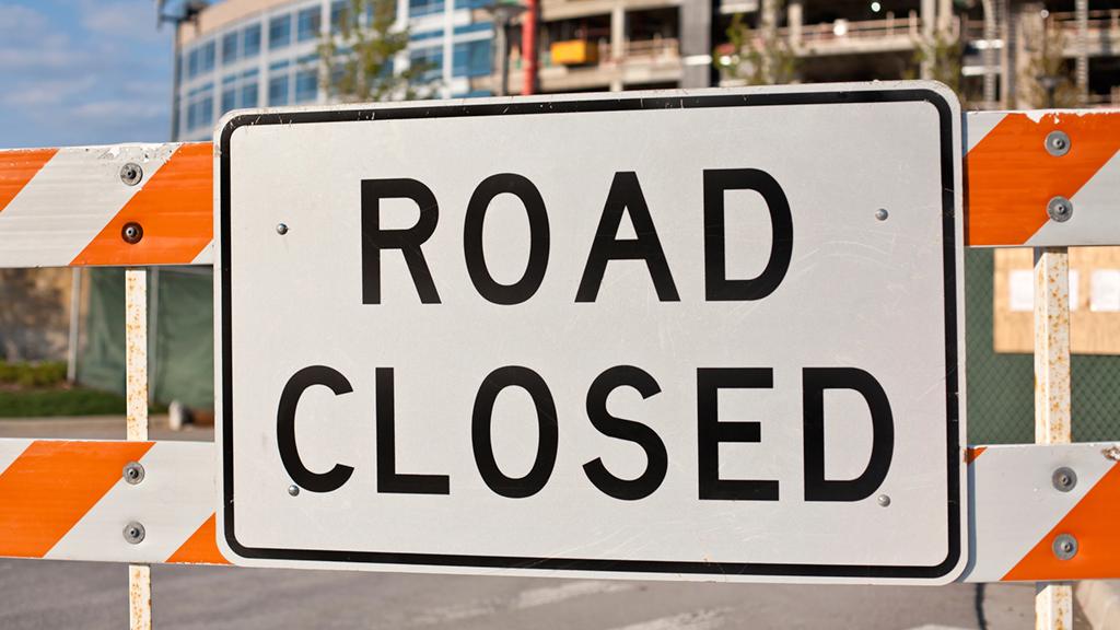 DC road closures
