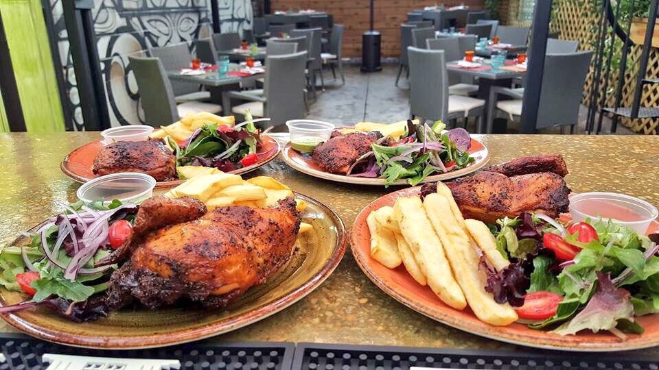 Ocopa dishes up grilled chicken and other Peruvian specialties for brunch. Photograph courtesy of Ocopa