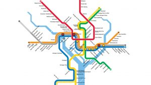 This Map Shows Where Metro Was More Likely to Catch on Fire