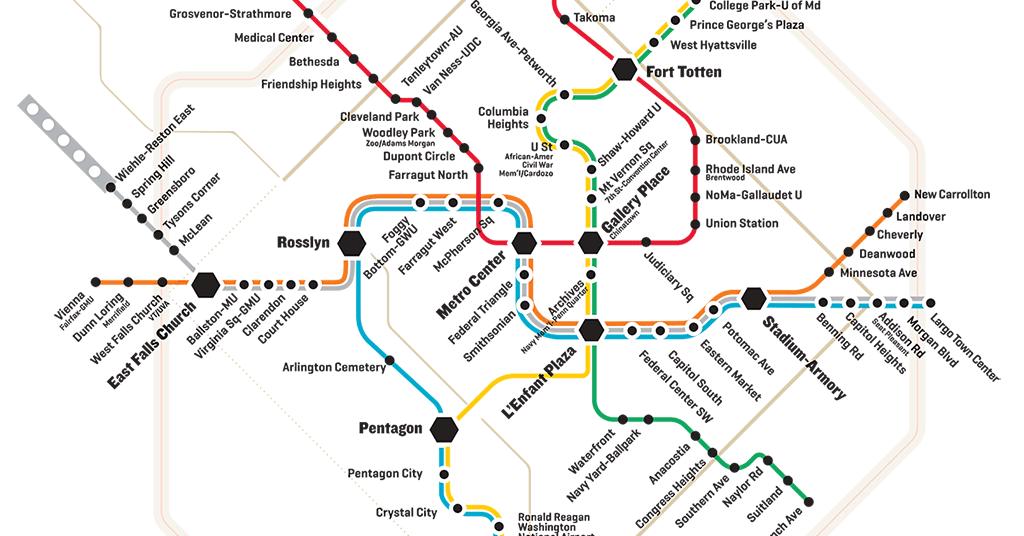 Your Public Transportation Guide to DC | Washingtonian (DC)
