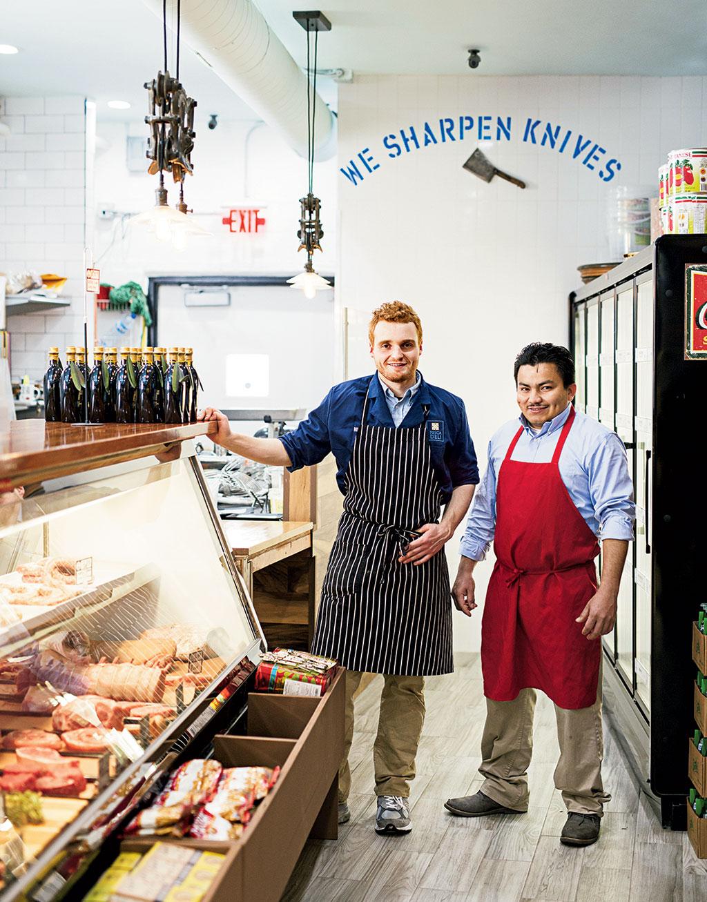 New restaurants in DC. Chop Shop: Butchers Alley in Bethesda. Photograph by Scott Suchman.