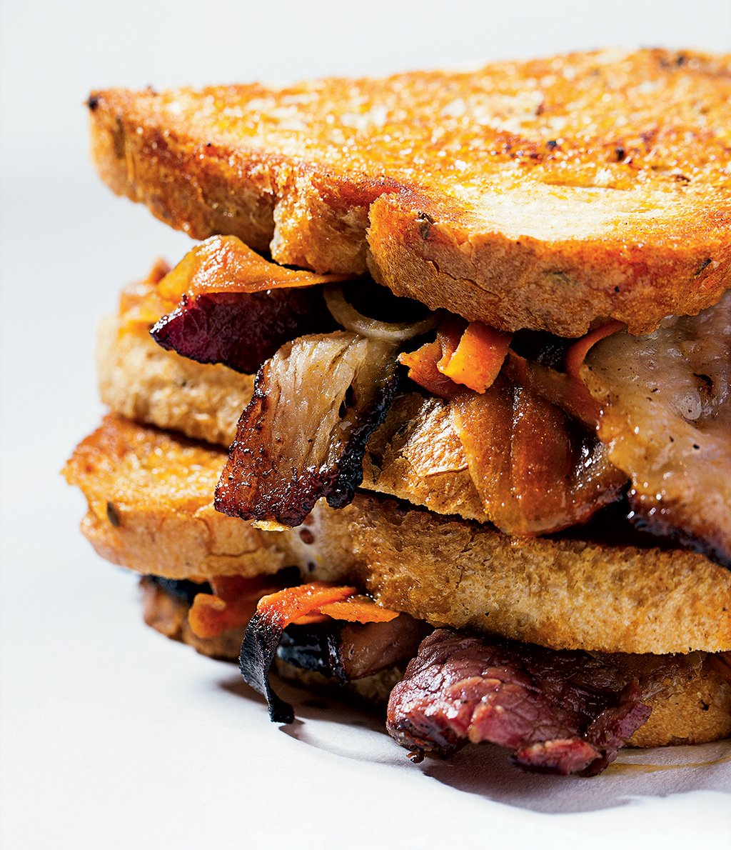 New sandwiches in DC: Pastrami Sandwich at Chase the Submarine. Photograph by Scott Suchman.
