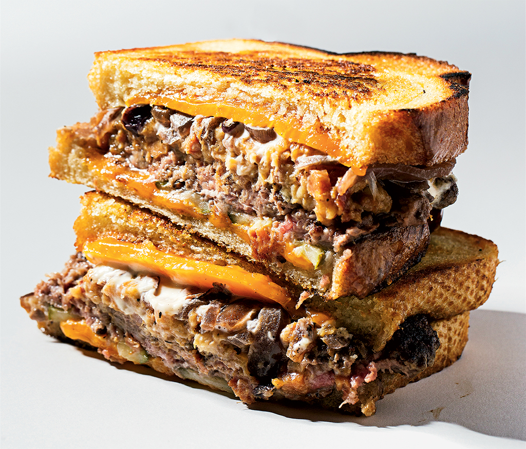 New sandwiches in DC: Patty Melt at Crisp. Photograph by Scott Suchman.