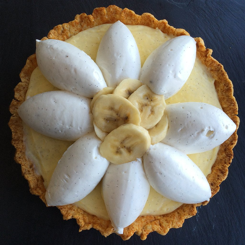 Pi Day special: The banana creme pie at 2941 Restaurant. Photograph courtesy of 2941 Restaurant.