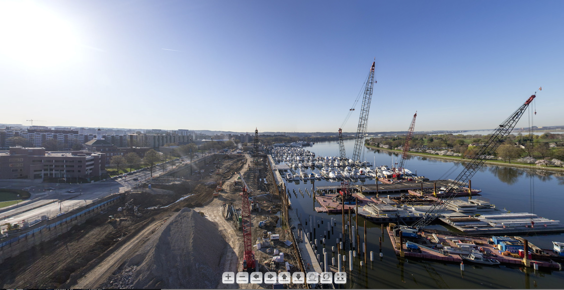 Check Out This View of The Wharf