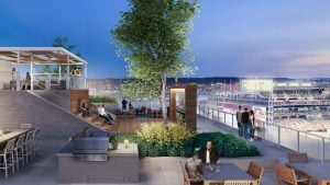 Residents of New Navy Yard Building Will Be Able to Watch Nationals Games From the Roof