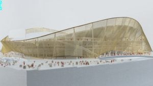 The Redskins' Bjarke Ingels-Designed Stadium Will Also Be an Amphitheater
