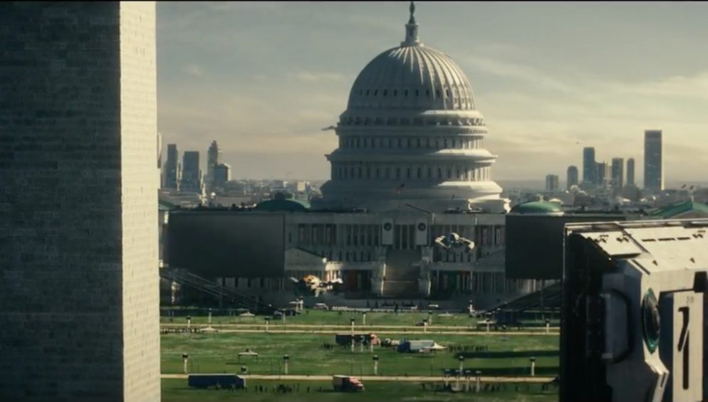 Independence Day Sequel Features DC Rebuilt Without the Height Act