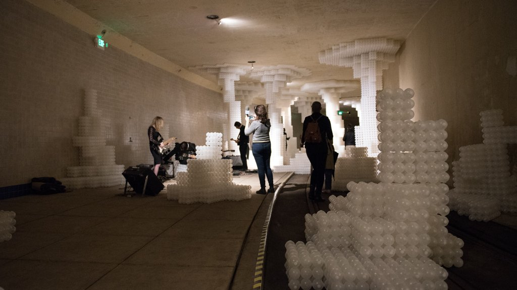 """Here's What Happened to the Plastic Balls From the Building Museum's """"Beach"""""""