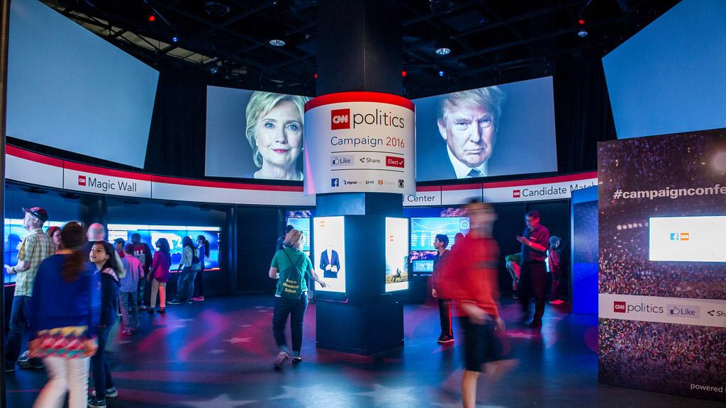 Innovative CNN Politics Exhibit Now Open