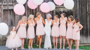 You're Going to Want to Pin Every Single Thing From This Perfect Pink Wedding