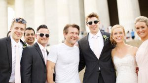 "A ""Shark Tank"" Star Photobombed This Eastern Market Wedding"