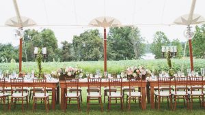 One Look at This Chestertown Wedding and You'll Want to Have a Tent Reception Too