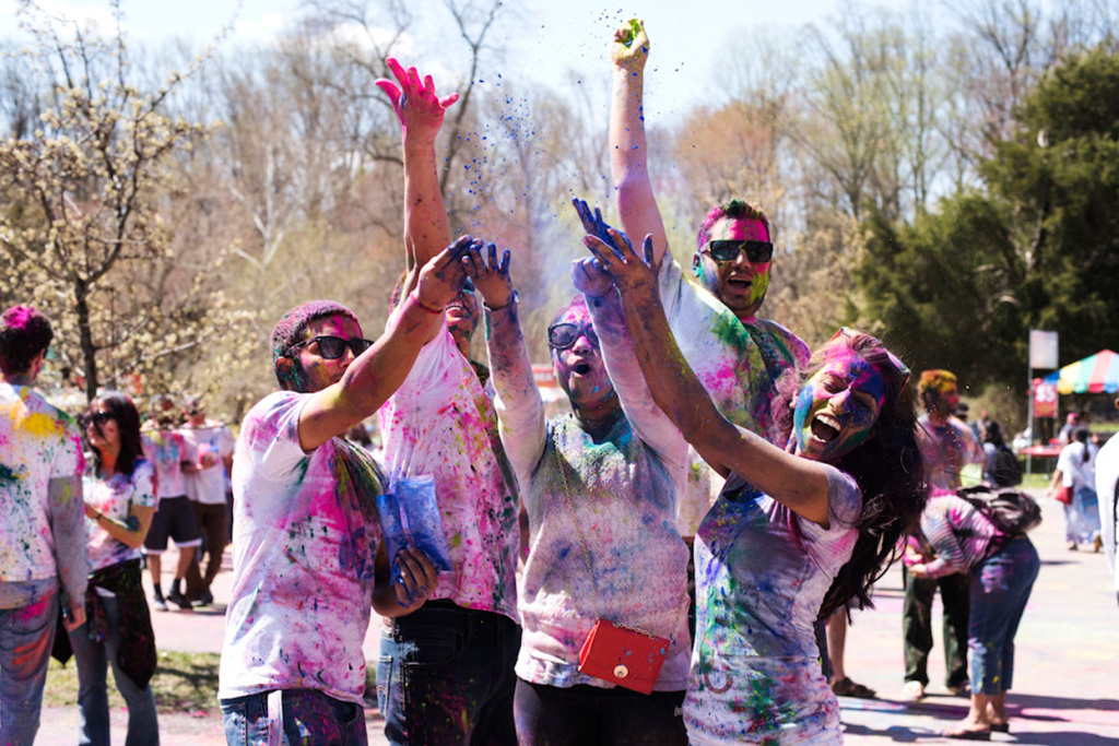 Holi DC photo by Lauren Joseph.