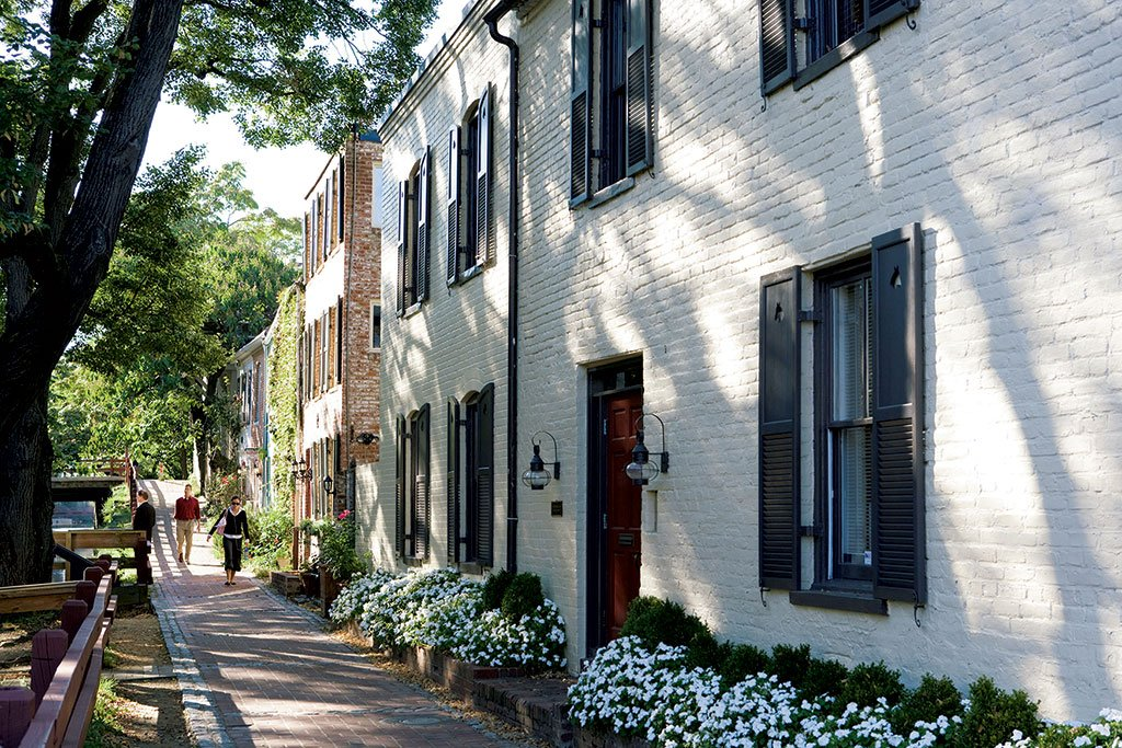 Most Expensive Neighborhoods in Washington, DC, Maryland, Virginia. Georgetown.