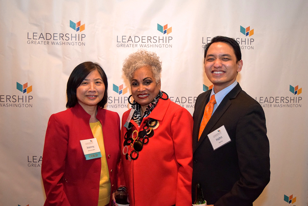 Jeanny Ho of Edison Electric Institute, Barbara Lang CEO of Lang Strategies, Liu of WilmerHale.