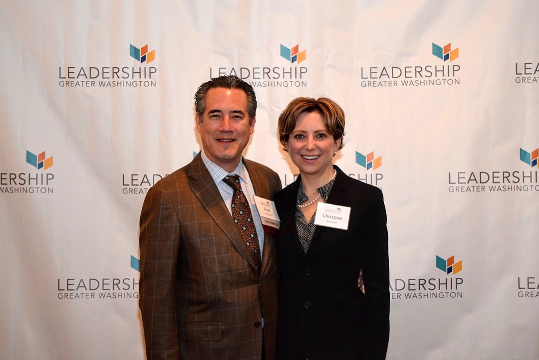 Fred Hill ('13) of The Hill Group, and his wife Christine Hill ofthe National Legal Services Program.