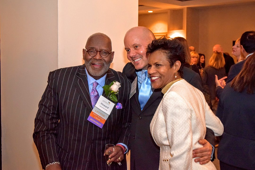 Howard W. Stone, Jr. ('96), ofPrince George's County and LGW's 2016 Public Innovative Leader of the Year, Tim Kime ('98) of Kime Leadership Associates, and Jennifer Cover-Payne ('98) of Culture Capital.