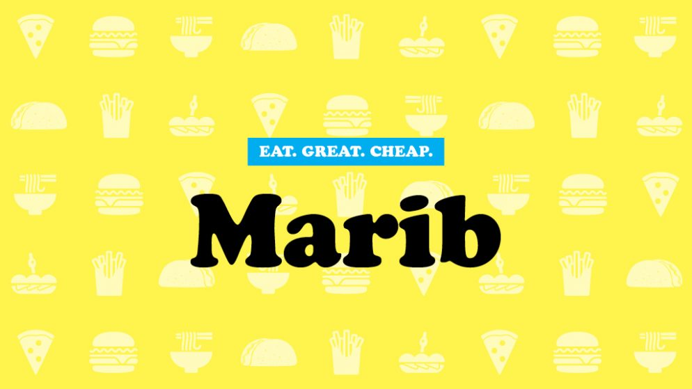 Cheap Eats 2016: Marib