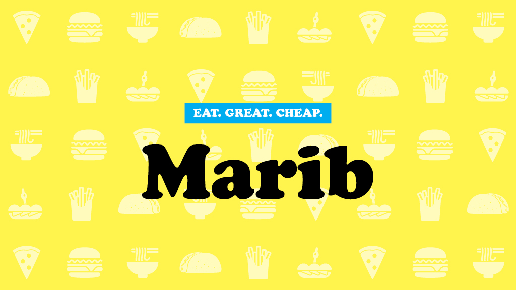 Cheap Eats 2017: Marib
