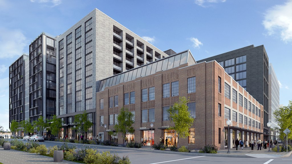 NStreet4 (new apts and 301 N, retail:office)