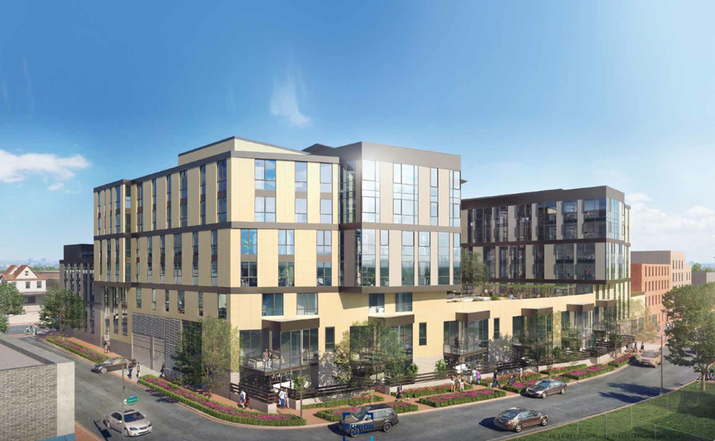 Rendering courtesy of Four Points Development and Curtis Investment Group.