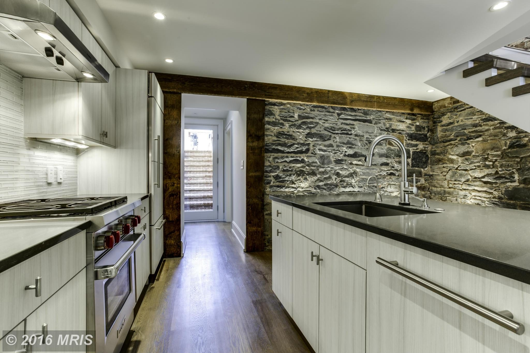 Listing We Love: A Stunning Modernized Stone House on the Georgetown Canal