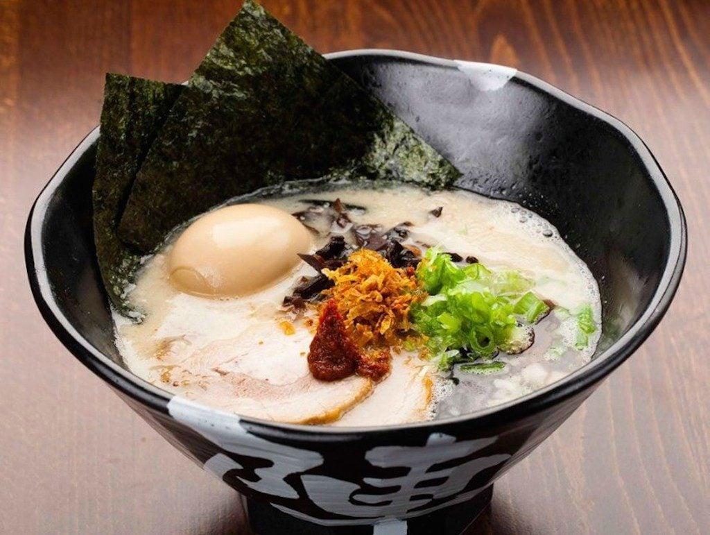 Jinya Ramen Bar specializes in porky tonkotsu-style ramen. Photography courtesy of Jinya