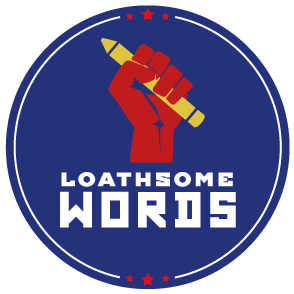 loathsome words logo