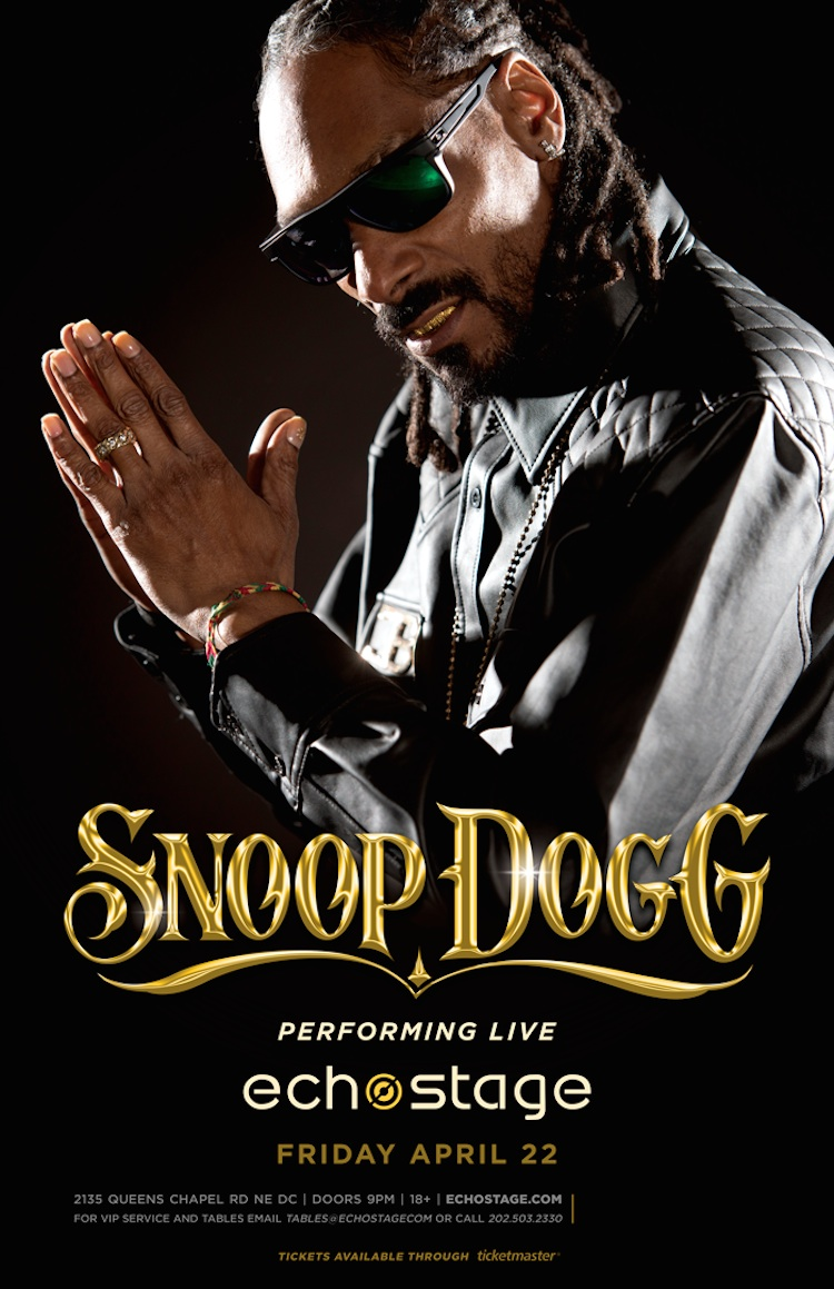 Snoop Dogg Will Play A Surprise Dc Show At Echostage Friday