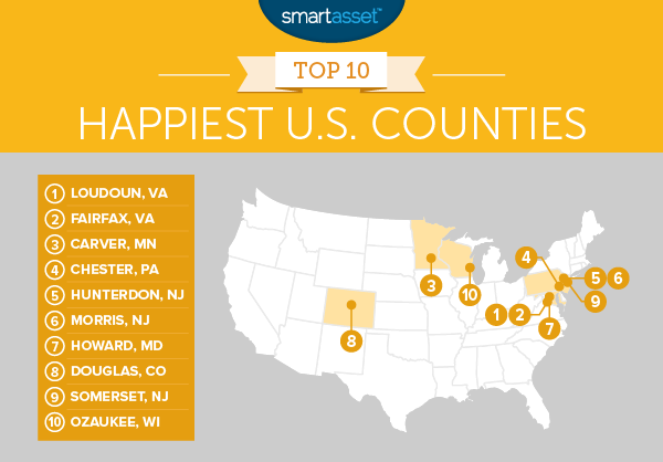 Loudoun County Reportedly The Happiest County In America - Wealthiest counties in usa