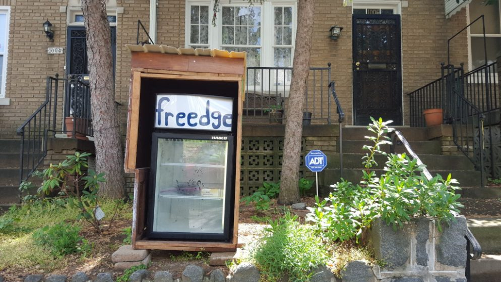 This Outdoor Refrigerator in Petworth Might Reduce Food Waste