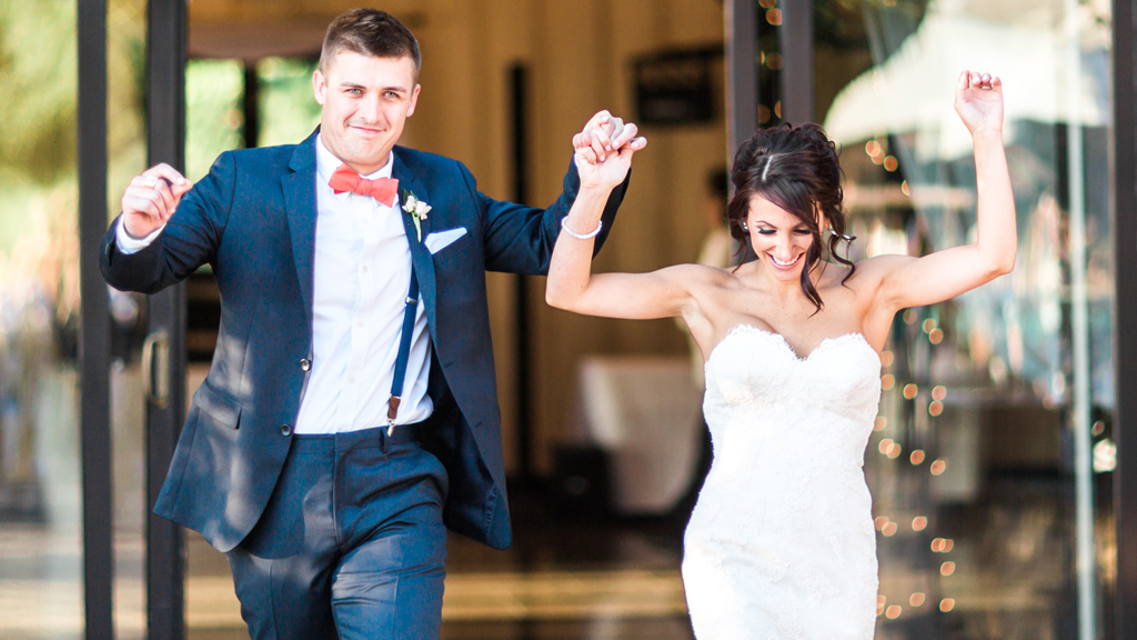 After Seven Years of Wooing, This Virginia Tech Groom Finally Got His Girl