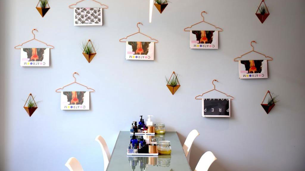 Take a Look Inside This Insta-Friendly New Nail Salon in Ballston