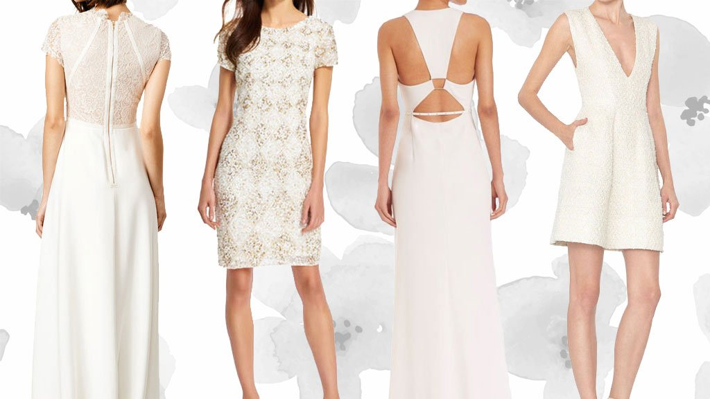 15 Wedding Reception Dresses Under 500 That Youll Want To Wear All