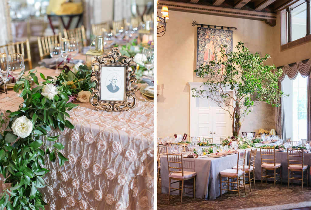 Vintage Lovers Will Adore This Lavender and Gold Wedding at ...