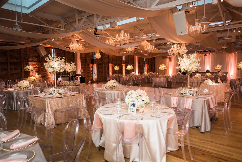 Rose Gold Wedding Ideas For Ceremony Reception Décor: See How Chandeliers And Rose Gold Turned A Funky Art