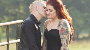 VA Bride Weds Wearing Black and Tattoo Sleeves, is Cooler Than All Of Us
