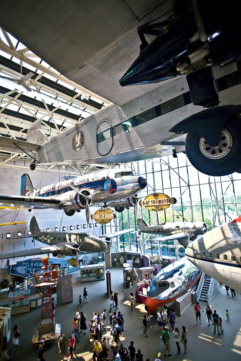 The National Air and Space Museum offers a comprehensive look at the history and evolution of flight.