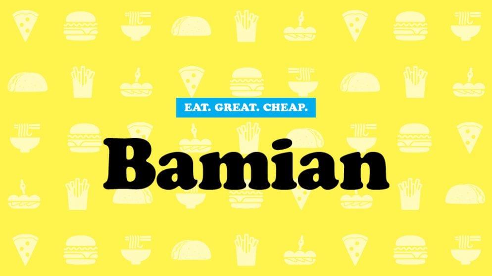 Cheap Eats 2016: Bamian